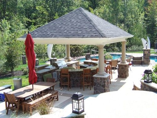 Attach our pergola to our new indoor pool pool design pictures