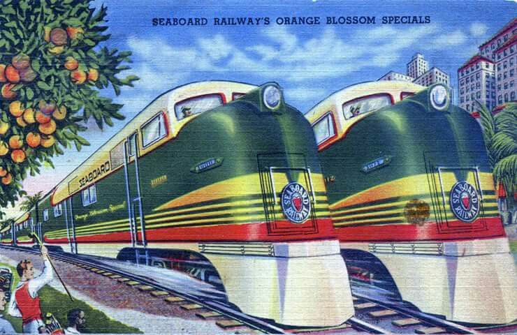 Pin by jeanie daugherty on trains florida poster