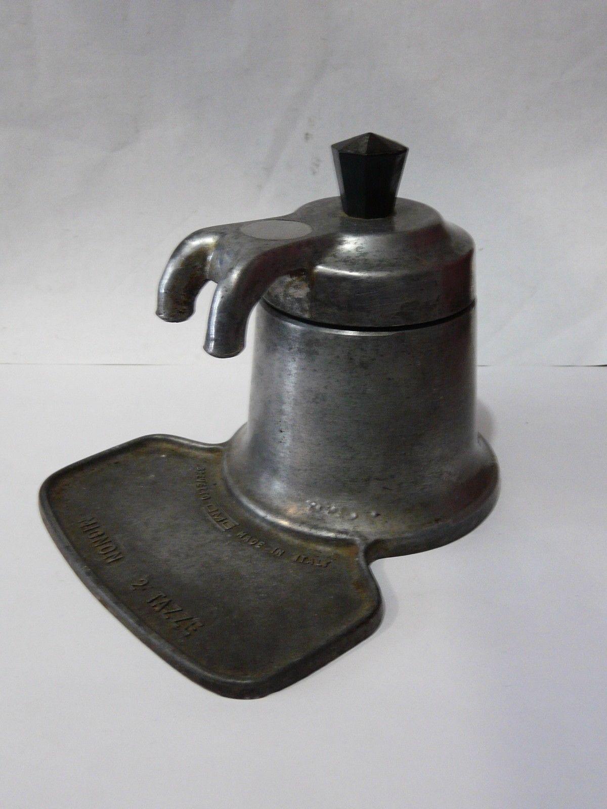 Vintage Brevetto Mignon 2 Tazze Stove Top Espresso Maker