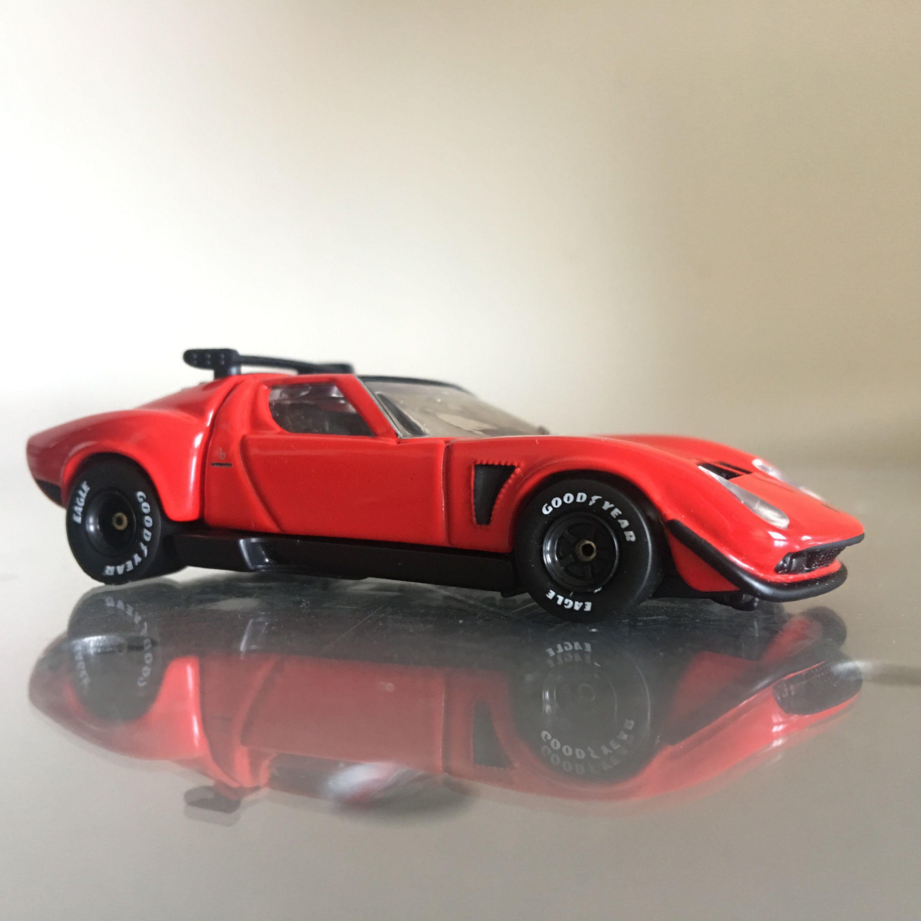 Tomica Premium No 05 Lamborghini Miura Jota Svr Customized