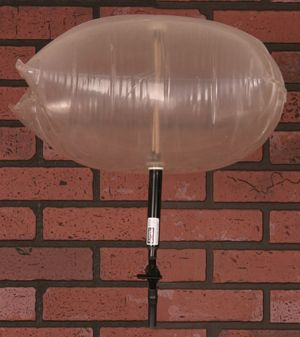 Chimney Balloon An Inflatable Fireplace Draft Stopper