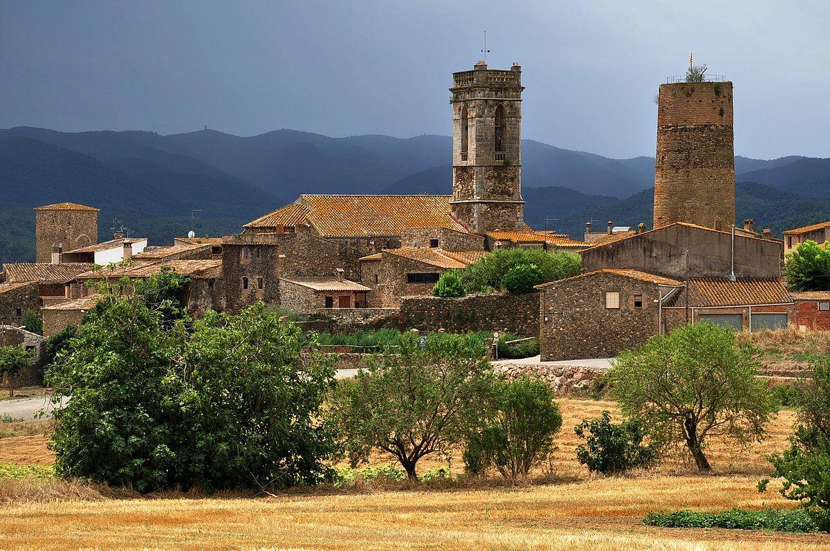 Spain Catalonia Cruïlles 1 Cruïlles Monells I Sant Sadurní De L Heura Wikipedia Wolna Encyklopedia España Paisajes Paises