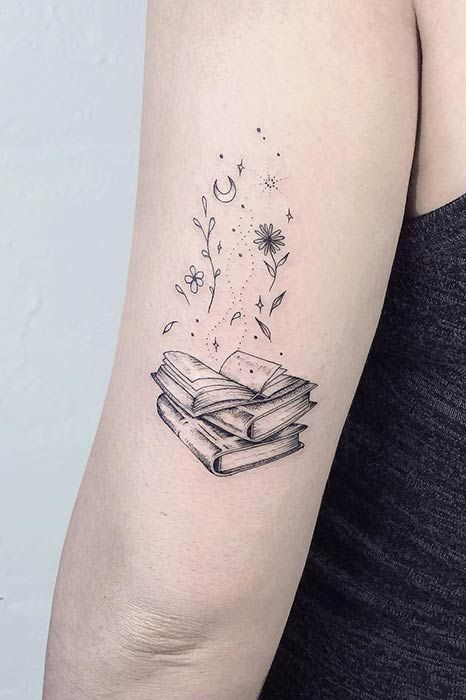 Photo of 23 Awesome Tattoo Ideas for Book Lovers   Page 2 of 2   StayGlam