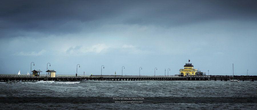 St Kilda Pier Panorama by Maciej Nadstazik on 500px