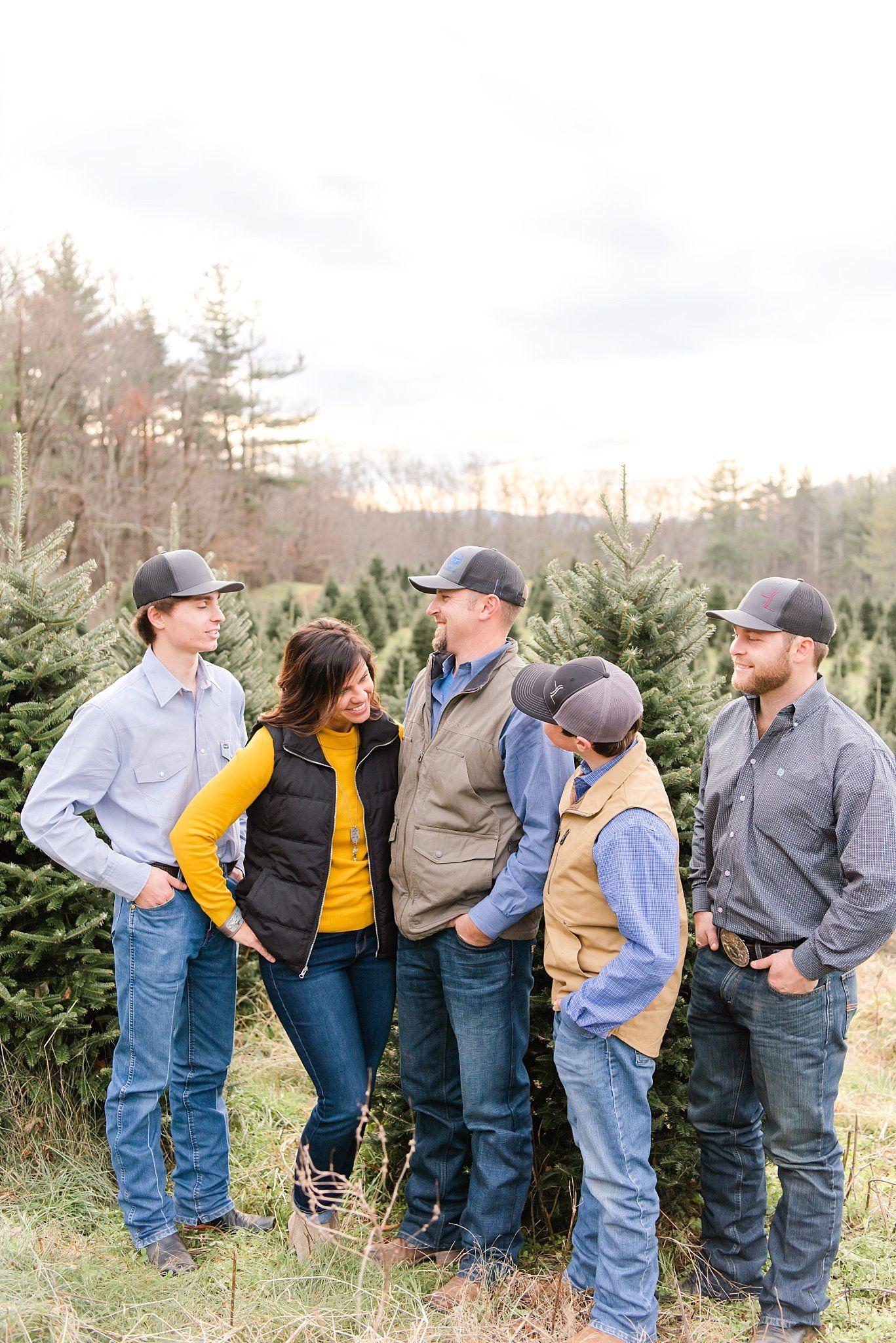 Circle C Tree Farms Christmas Minis BooneNorth