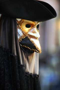 History of the Venetian Masks. A Curious and Odd Case of Disguise