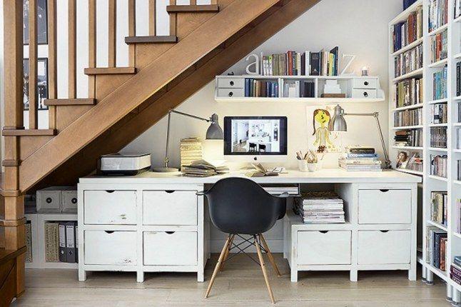 Kleines Arbeitszimmer ~ Büro unter treppe treppe pinterest treppe und büros