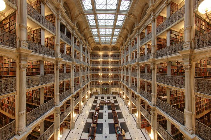 Discover Magnificent Libraries Worldwide Containing Immense Wealth Of human knowledge (Photo Gallery)