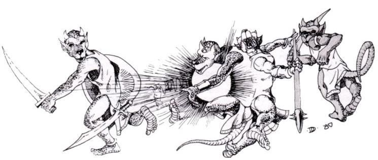 Kobolds: AD&D. Advanced Dungeons and Dragons. Classic RPG