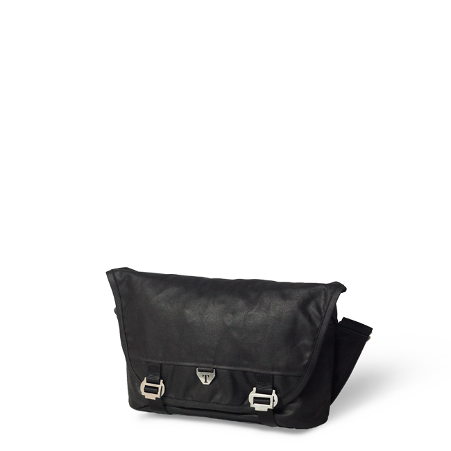 95d276f38 The Trakke waterproof messenger bag, Bairn Mk2, in black, made in Scotland  with British materials