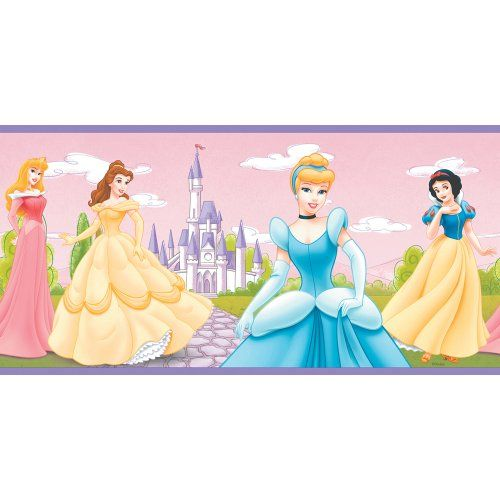 Imperial Disney Home DF059182B Forever A Princess Border