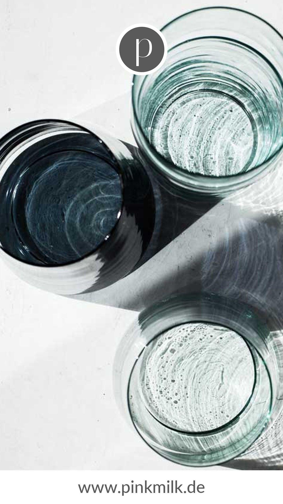 Trinkglas Marocco, Ø6,5 cm Wie schön ein Getränk in schlichten Gläsern zur Geltung kommt, zeigen die handgemachten Trinkgläser von Urban Nature Culture! Wir lieben sie!