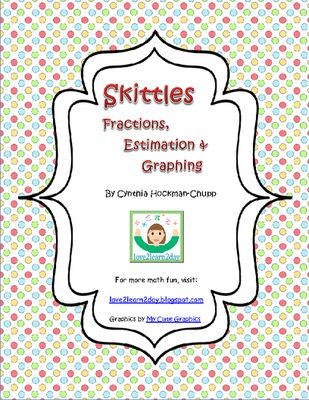 Skittles Fractions Estimation And Graphing From