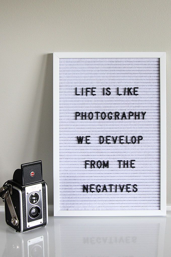 Letter Board Quotes, Inspiration And Ideas   Quotes about photography, Message board quotes, Letter