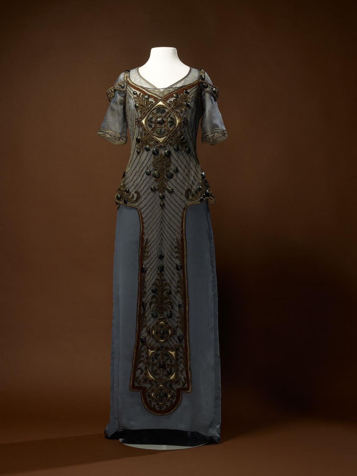 Fripperiesandfobs uc callot soeurs evening dress from the