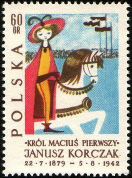 King Matt I Triumphant March In The Capital Stamp Collecting Postage Stamps Poland