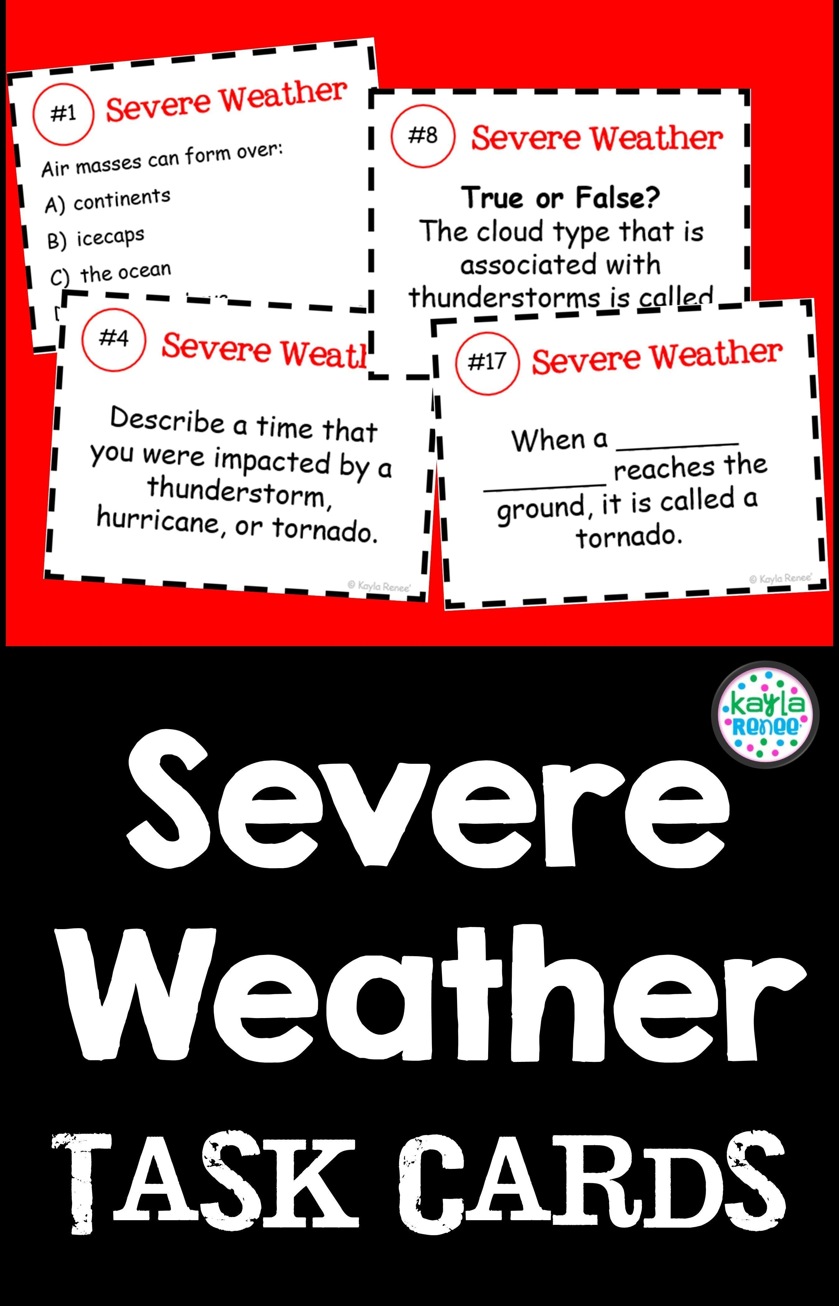 Forensics And Investigations Severe Weather Activities