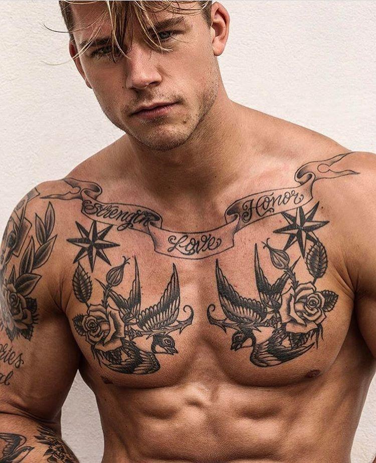 TOP 50 Tatuajes para Hombres sexys y masculinos