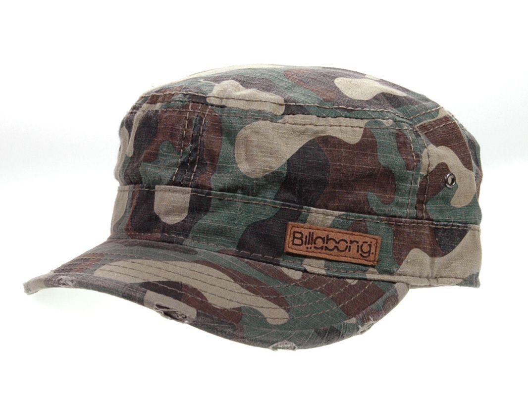 38657b4fa3a56 Billabong Camouflage Cadet Cap C1290