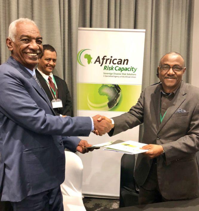 توقيع مذكرة تفاهم بين حكومة السودان والوكالة الأفريقية لاستيعاب المخاطر لمعالجة آثار الظواهر المناخية البالغة الشدة