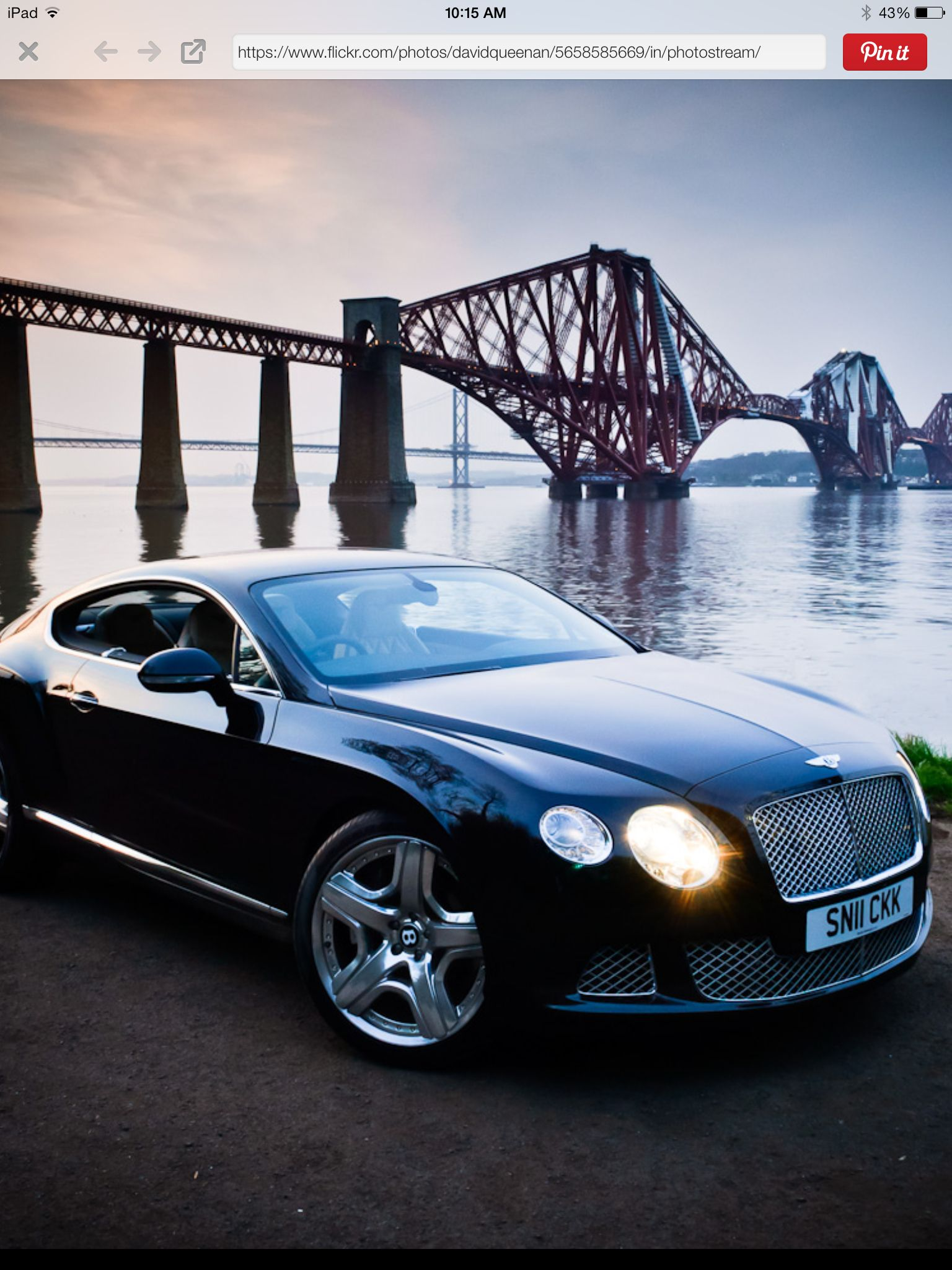 Cool looking Bentley Continental GT V8