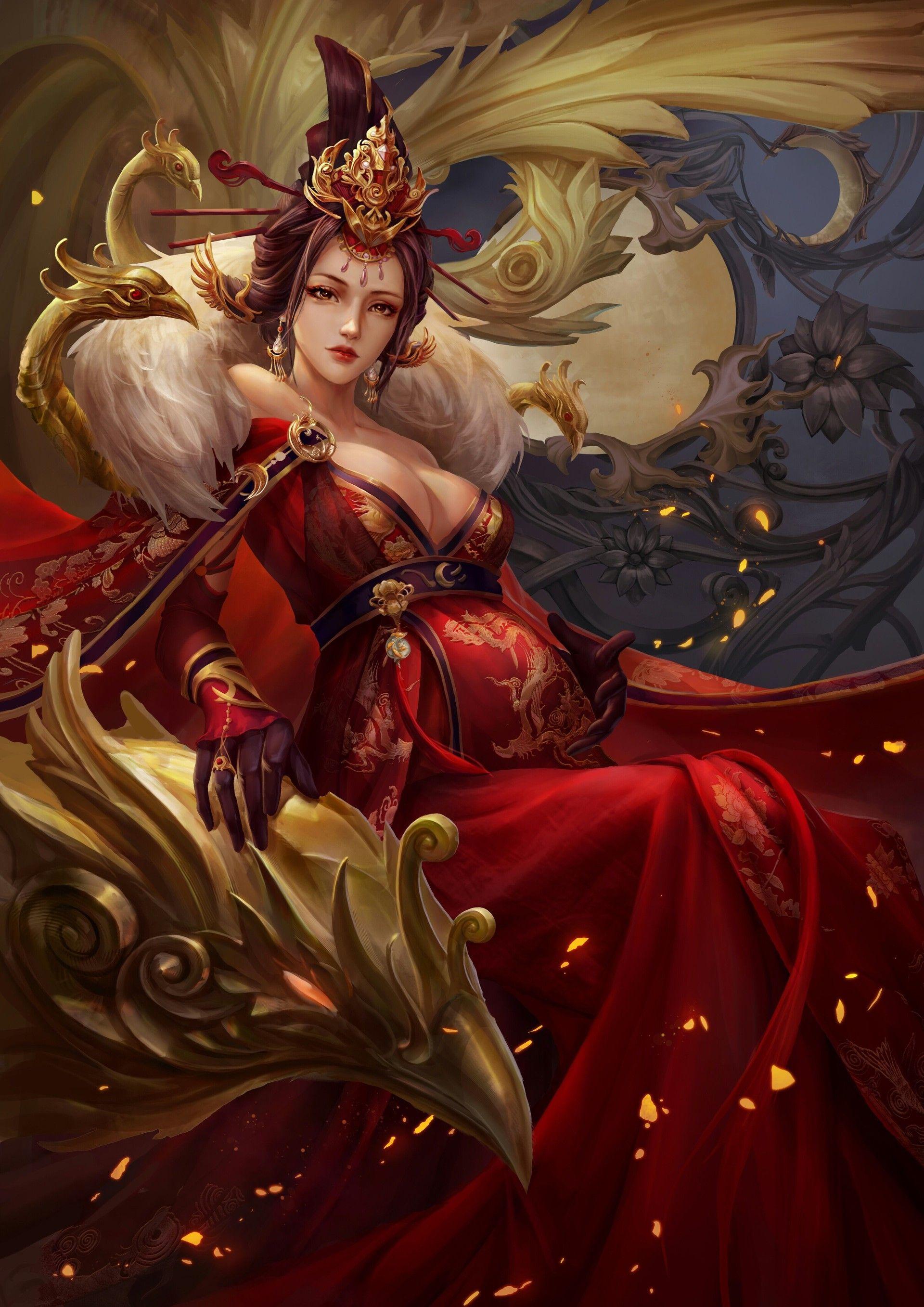 """Képtalálat a következőre: """"queen fantasy art"""""""