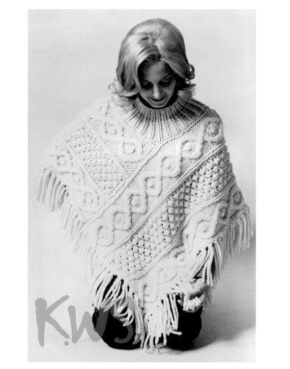 Vintage 70\'s Knit Aran \