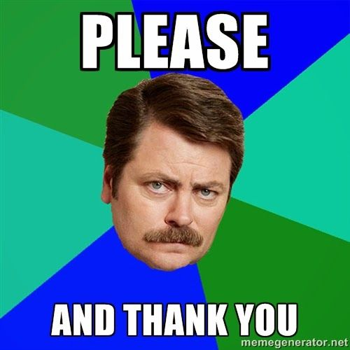 Image result for please and thank you gif