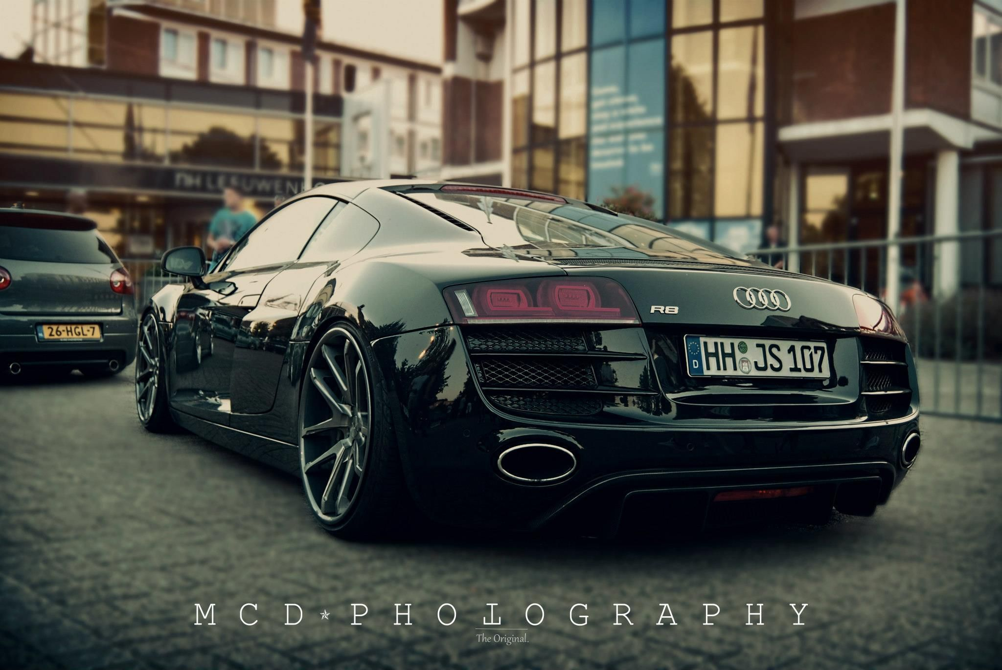 One Day, If Ever. Audi R8 On Rotiform Snau0027s.