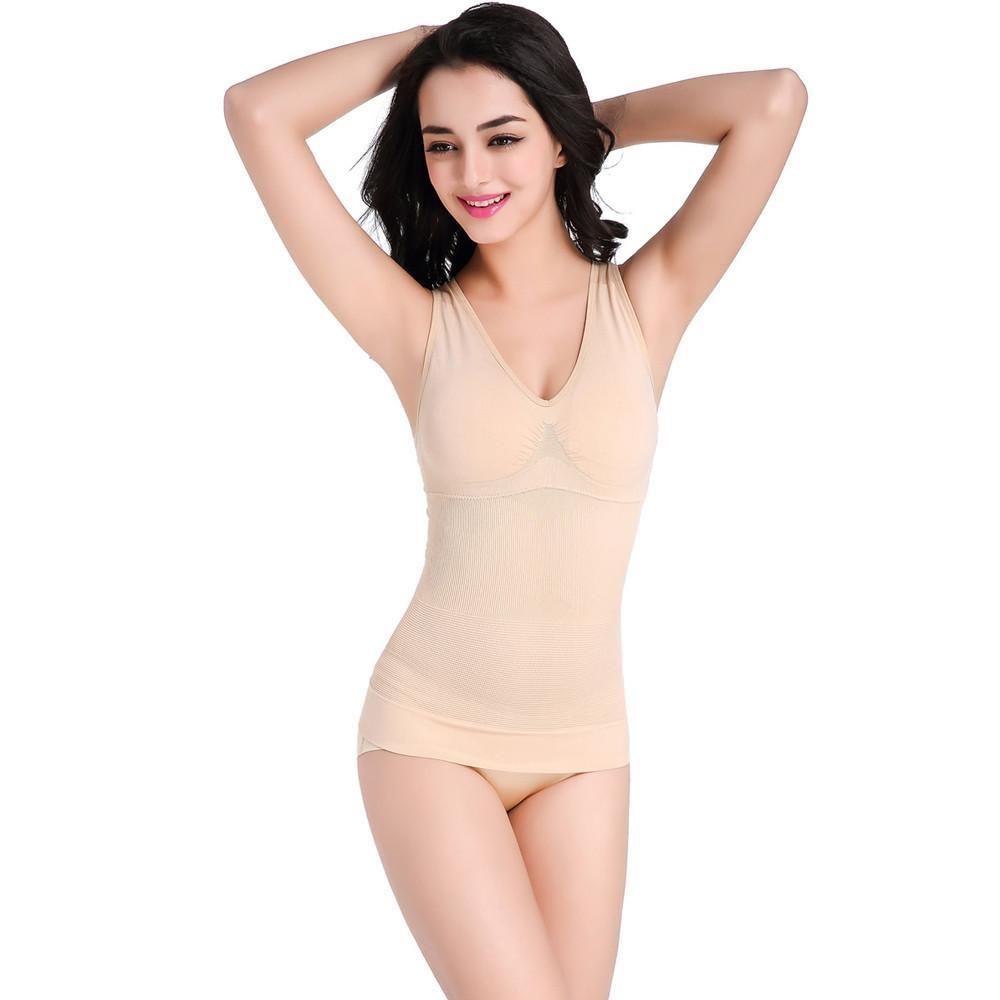 369ef5c899f Slimming Burn Fat Tummy Slim Shapewear Bodysuit Full Body Shaper BK ...