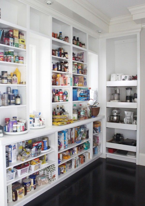 Charmant Magnetic Design Kitchen Pantry Shelving With Wooden Lazy Susan Turntable  Pantry Shelves And Stainless Steel Kitchenaid Food Mixer