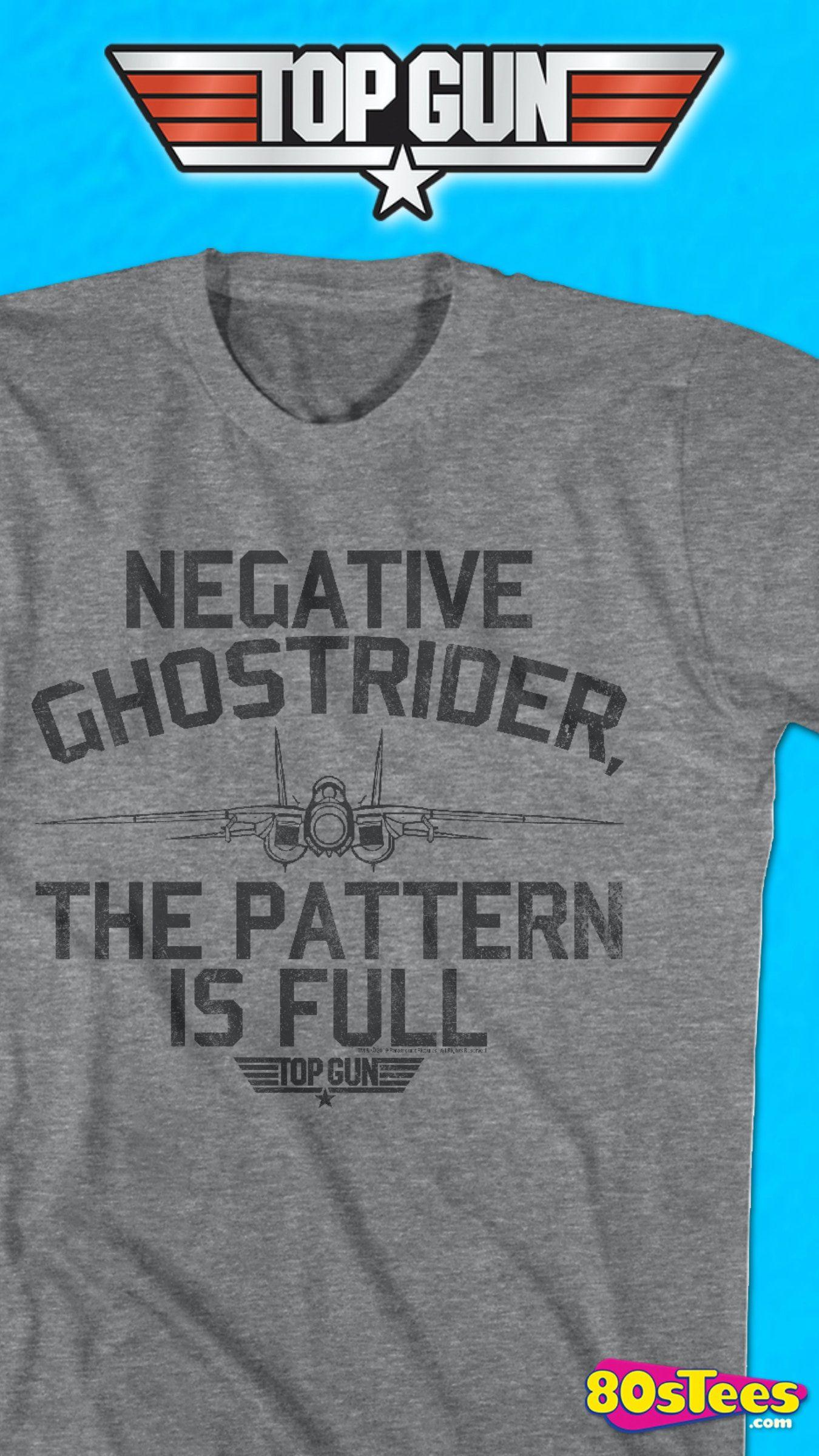 Pattern Is Full Top Gun T Shirt Men S