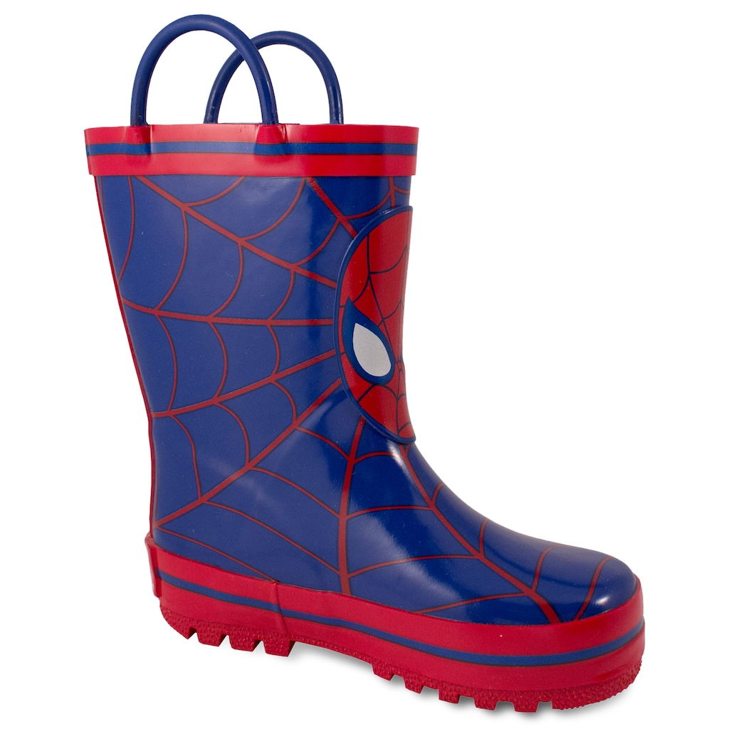 great deals catch purchase cheap Marvel Spider-Man Toddler Boys' Rain Boots, Toddler Boy's, Size: 9 ...