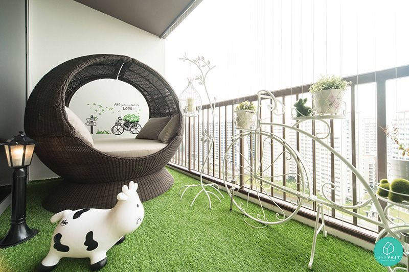 Condo balcony design singapore google search balcony for Balcony ideas singapore