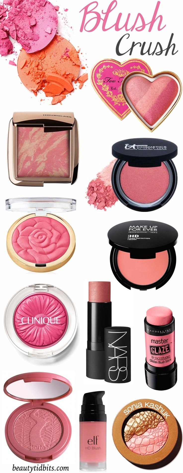 10 Blush Colors to Step up your Spring Summer Beauty Game   Summer ...