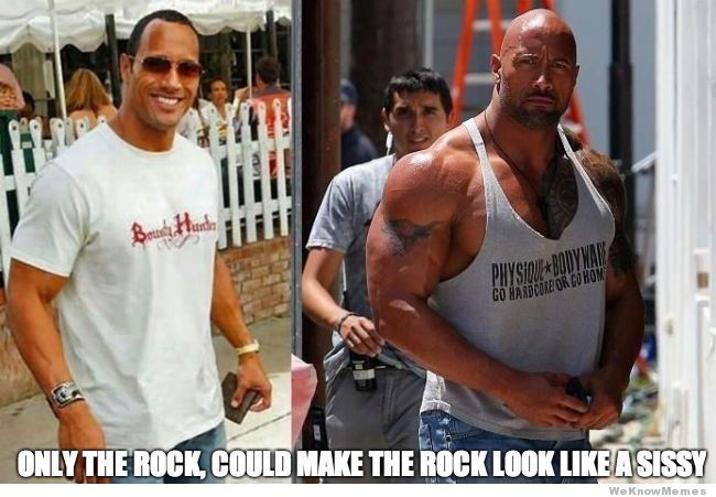 Only the Rock