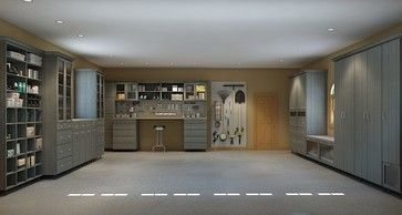 Closet Factory   Industrial   Garage And Shed   Orlando   Home Tradie