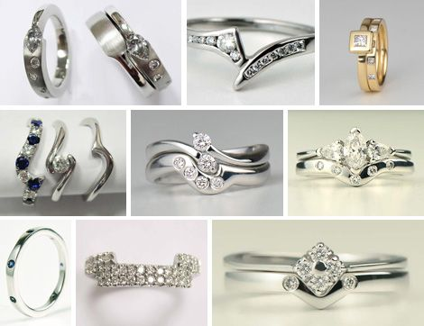 Handmade wedding rings to fit with your engagement ring starting