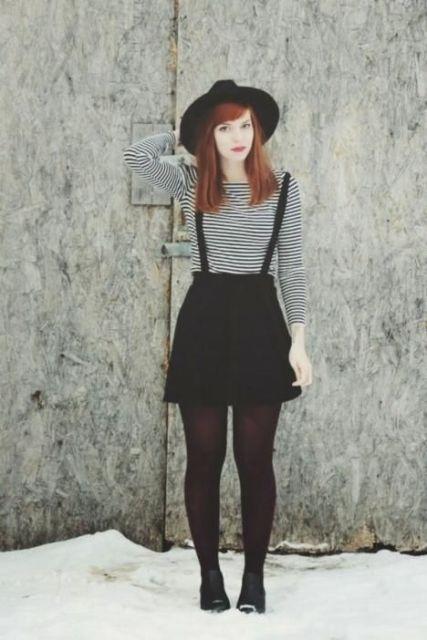 20 idee per indossare gonne con bretelle – idee di outfit