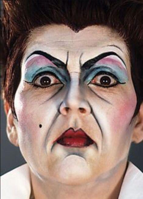stage makeup  Pinteres - Theatre Makeup
