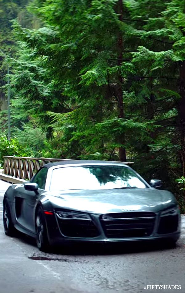 """You can find an arsenal of luxurious fast cars in Christian's garage. """"I can take you places you don't even know exist."""" - Christian Grey. Official picture from the movie. 