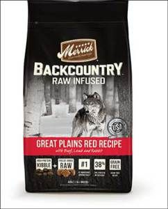 Merrick Backcountry Great Plains Red Meat Recipe Raw Infused Dry