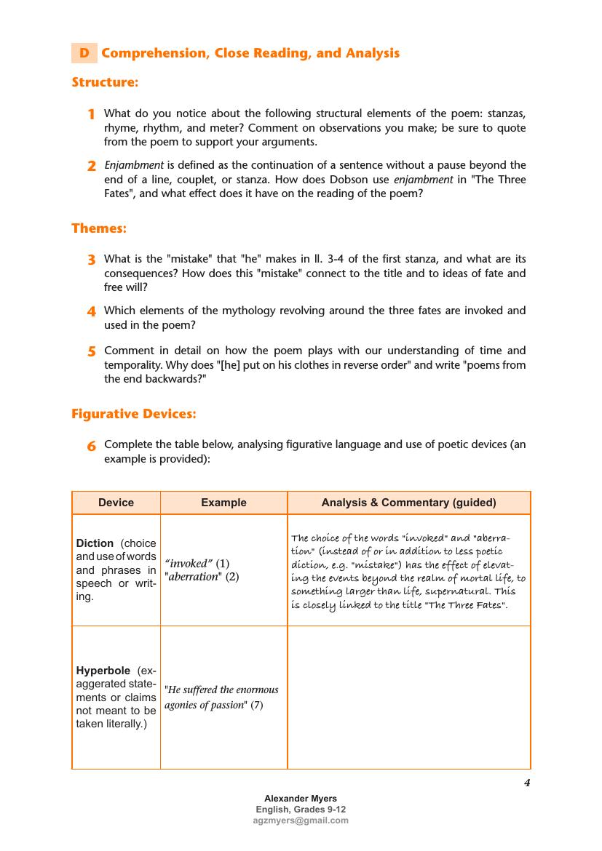 IGCSE Poetry TEACH + REVISE + EXAM PREP Bundle for Exams 2020 - 2022 [ 1170 x 827 Pixel ]