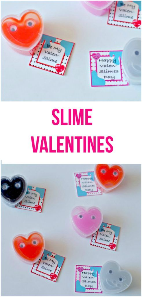 Kids are all about the slime, give them what they want with some slime valentines including cute slime printables for classes!