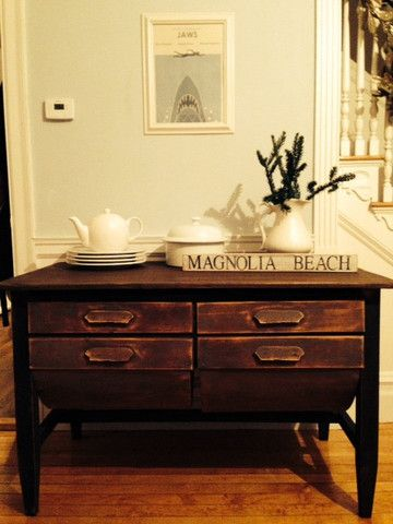 Antique Rustic Baker's Table - Shackteau Interiors