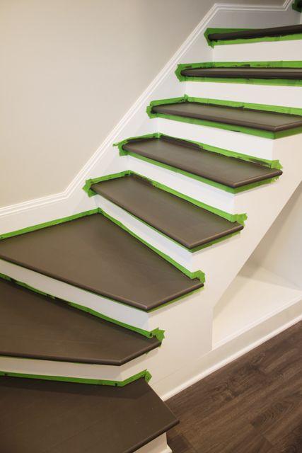 Painting Wood Basement Steps Basement Steps Basement
