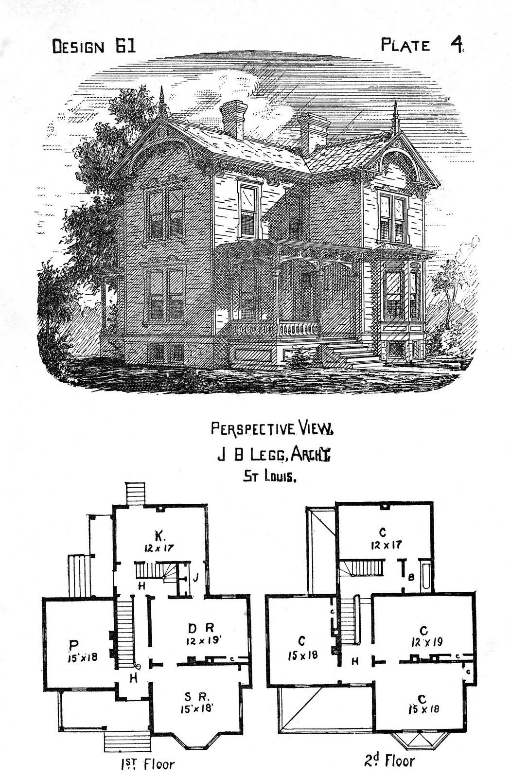 Free Antique Clip Art - Victorian Houses | Pinterest | Graphics ...