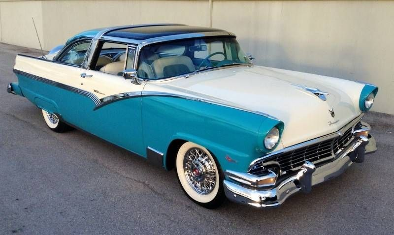 1956 Ford Crown Victoria Skyliner Classic Cars Trucks Hot Rods Ford Fairlane Classic Cars