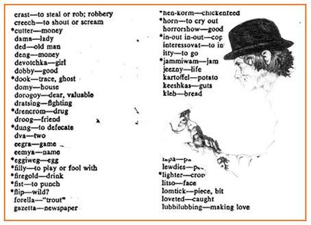 A Clockwork Orange glossary | Fictional languages ...