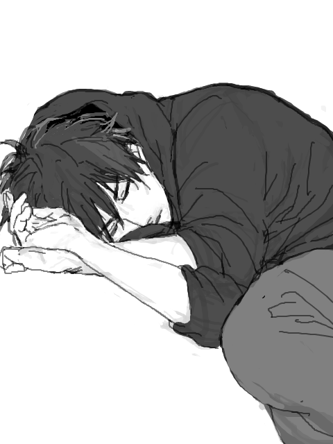 Indignation In 2020 Anime Drawings Boy Cute Anime Guys Sleeping Drawing